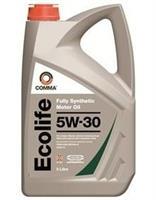 Масло моторное синтетическое ECOLIFE 5W-30, 5л